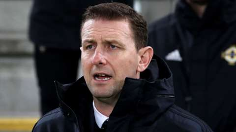 NI manager Ian Baraclough