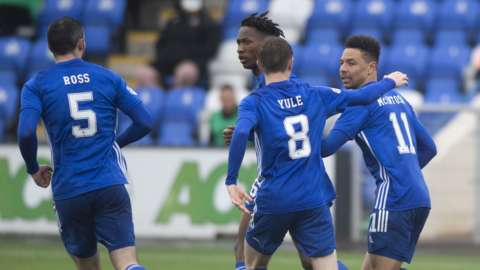 Cove Rangers hit back to earn a home draw in the first leg of the play-off