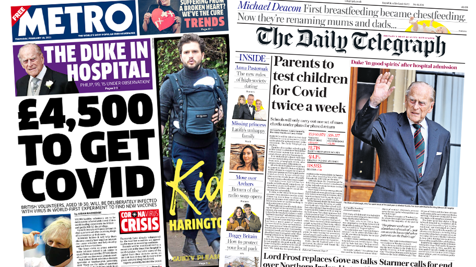 The Papers 18 February 2021