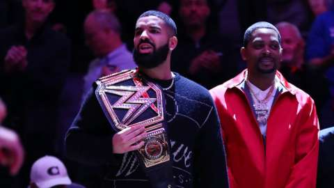 Drake, Toronto Raptors vs Milwaukee Bucks