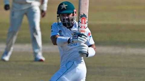 Pakistan batsman Mohammad Rizwan