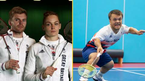 GB Olympians Marcus Ellis and Lauren Smith and Paralympian Jack Shephard