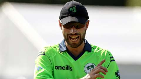 Ireland skipper Andrew Balbirnie proved his fitness after his injury scare on Sunday by notching an unbeaten 42 in Tuesday's win over Papua New Guinea