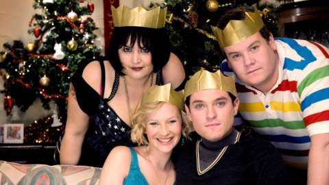Vanessa, Stacey, Gavin and Smithy