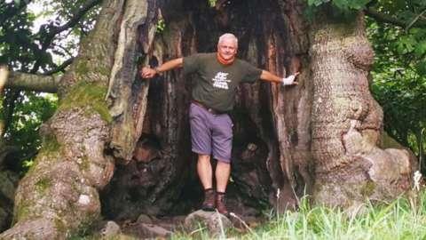 Self confessed 'Tree Hunter' Rob McBride