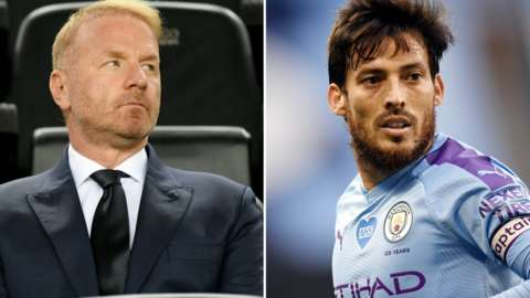 Igli Tare and David Silva