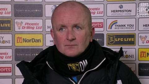 Livingston manager David Martindale