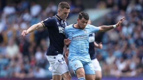 Millwall 1-1 Coventry City