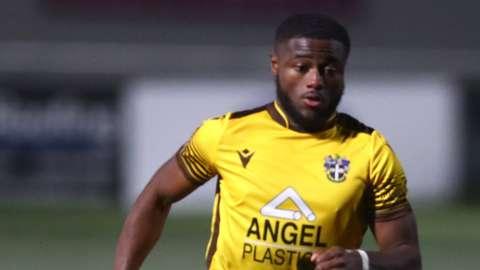 Sutton United winger David Ajiboye