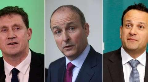 Three leaders