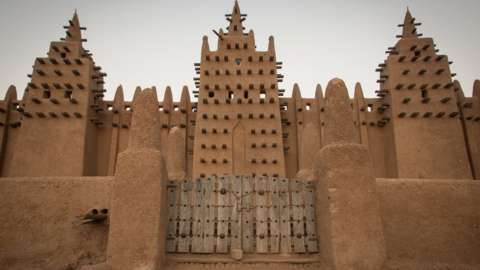 Building at Djenne in Mali