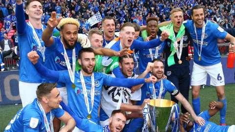 Portsmouth win Checkatrade Trophy
