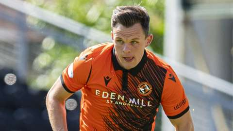 Dundee United have sold striker Lawrence Shankland