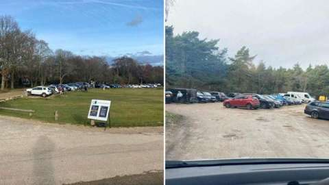 New Forest car parks