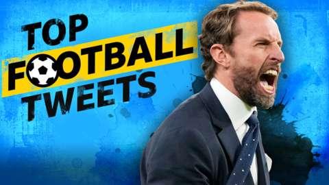 Top Football Tweets: Gareth Southgate.