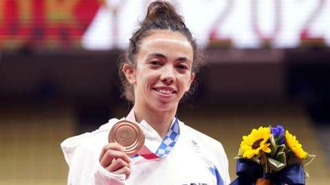 British judoka Chelsie Giles
