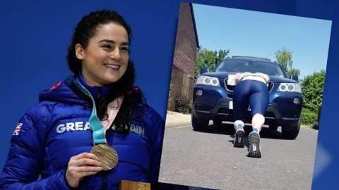 Olympic skeleton bronze medallist Laura Deas prepares for the new season