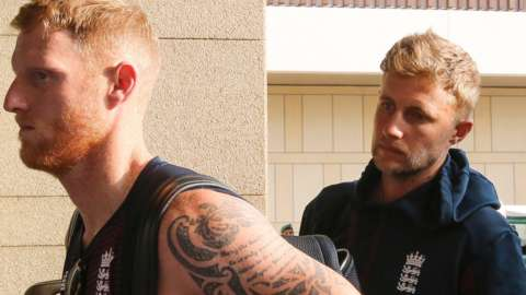 Ben Stokes and Joe Root