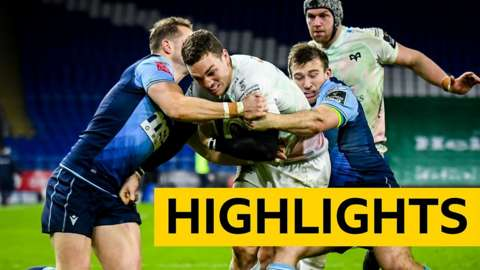 Pro14 highlights: Cardiff Blues 3-17 Ospreys