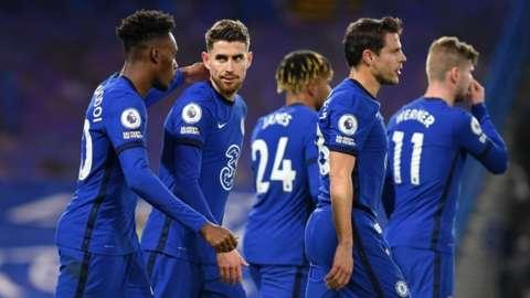 Jorginho scores for Chelsea