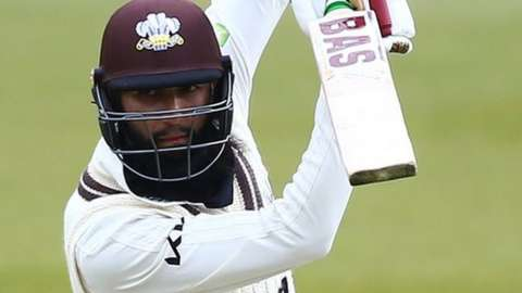 Hashim Amla is the sixth batsman to hit a double century in the Championship already this season and the second for Surrey