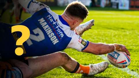 Tommy Makinson scores a try for St Helens