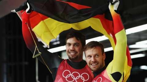 Germany's Tobias Wendl and Tobias Arlt