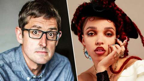 Louis Theroux and FKA twigs