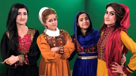 The women of Zan TV