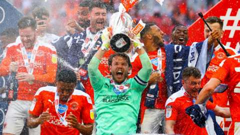 Blackpool lift trophy