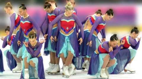Synchronised figure skating