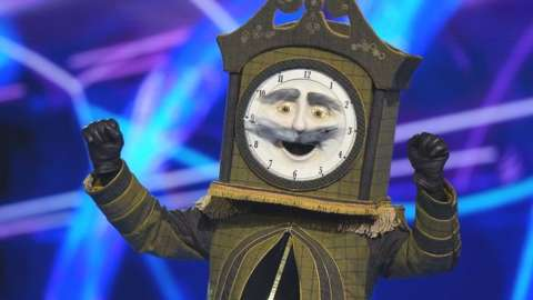 Grandfather Clock from the Masked Singer