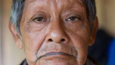 Aruká Juma, the last male member of the Juma indigenous group