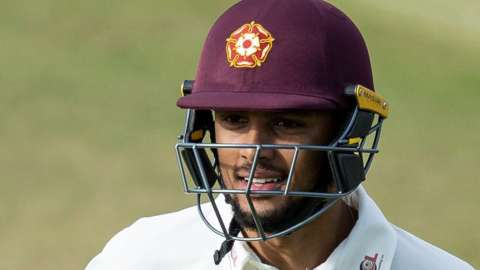 Emilio Gay's unbeaten second-innings 77 against Glamorgan helped earn Northants their only Bob Willis Trophy win