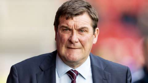 Former St Johnstone manager Tommy Wright