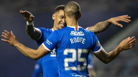 James Tavernier and Kemar Roofe
