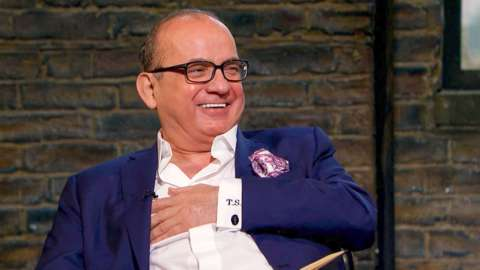Touker Suleyman laughing