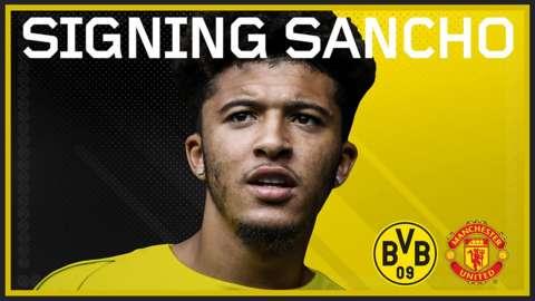 Borussia Dortmund's Jadon Sancho