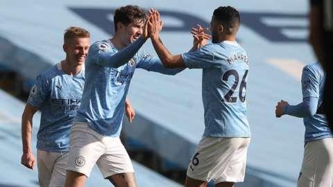 John Stones scores for Man City