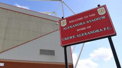Crewe Alexandra sign