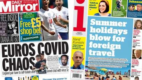 Daily Mirror/i newspaper
