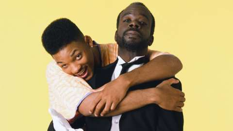 Will Smith and Joseph Marcell