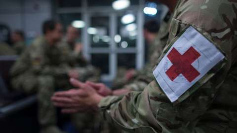 British Army medics
