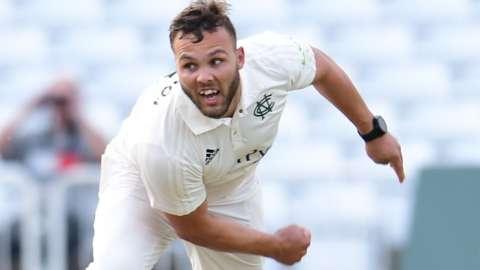 Nottinghamshire bowler Dane Paterson