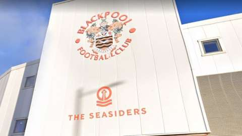 Front of Blackpool FC