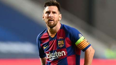 Lionel Messi has won four Champions League trophies and 10 La Liga titles with Barcelona