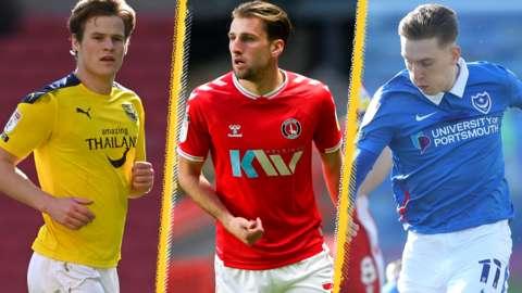 Oxford United, Charlton Athletic & Portsmouth