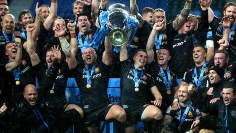 Exeter win Premiership final