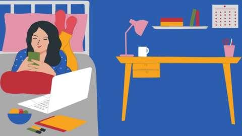 Studying illustration