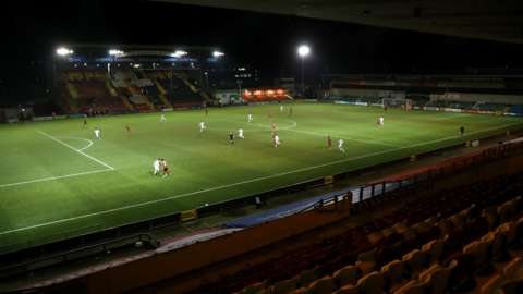 Leaders Lincoln have won only six of their 11 home League One games at the LNER Stadium this season